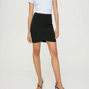 Aritzia Talula Black Primrose Skirt Size XS